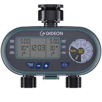 Gideon Dual-valve Hose Irrigation Water Timer