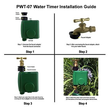 Instapark PWT-07 Water Timer Install Guide