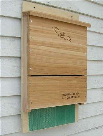 Looker Songbird Essentials Organization for Bat Conservation (OBC) Single Chamber Bat House