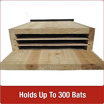 Nature-s Way CWH6 Triple Chamber Bat House