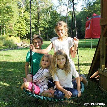 Play Platoon Spider Web Tree Swing for Kids