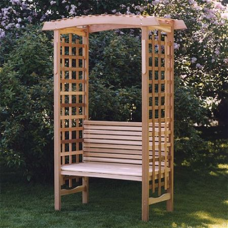 All Things Cedar Arch, the Best Arbor with Bench