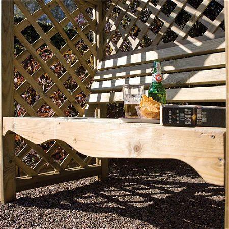 Bosmere Rowlinson Victoria Arbor with Bench