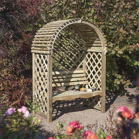 Bosmere Rowlinson Victoria Arbor with Seat