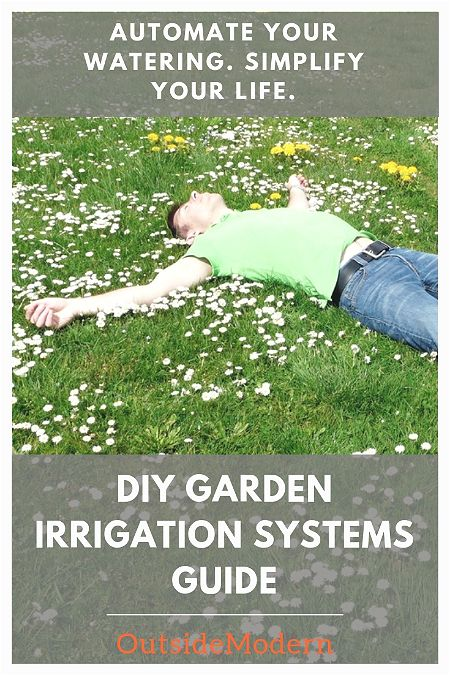 DIY Garden Irrigation Systems