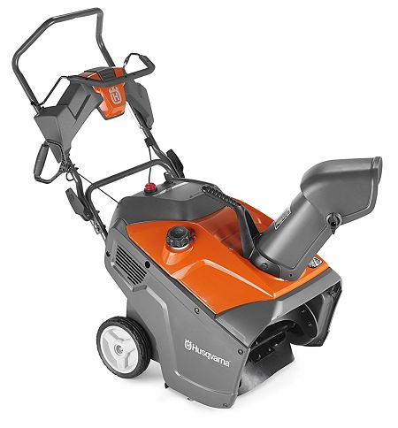 Husqvarna 961830002 136cc Single Stage Snow Thrower, 21-Inch