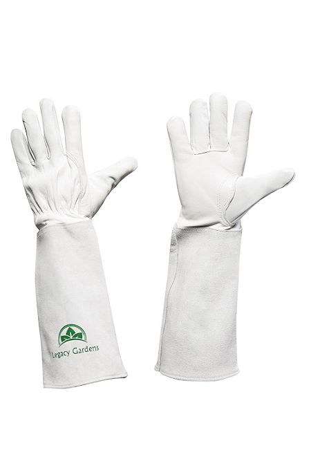 Legacy Gardens Thornproof Leather Gardening Gloves