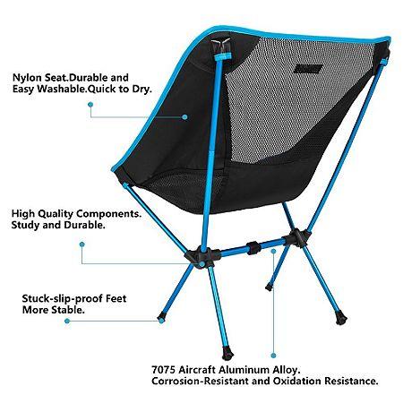 Sunyear Compact Folding Festival Chair