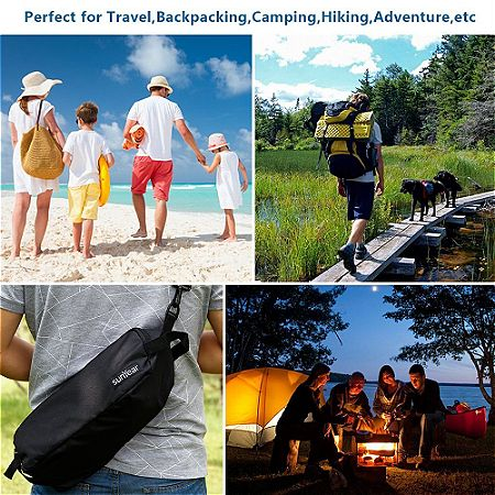 Sunyear Lightweight And Compact Folding Camping Backpack Chairs