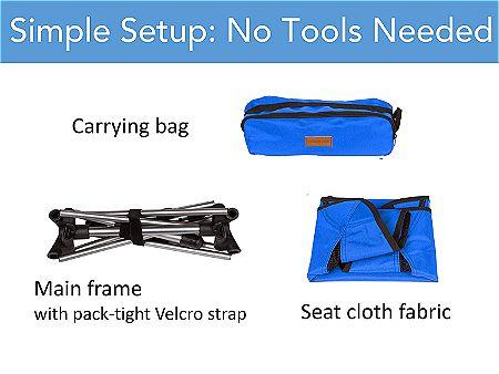 Trekology YIZI Go Chair Package