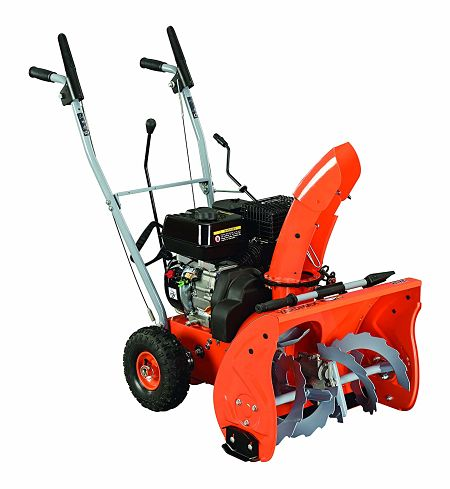 YARDMAX YB5765 Two-Stage Snow Blower, 6.5 hp, 196cc, 22in