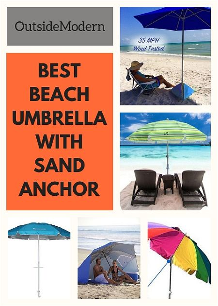 Beach Umbrella with Sand Anchor