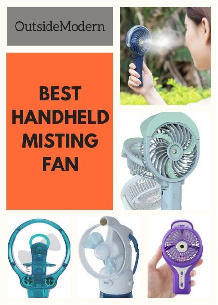 Best Handheld Misting Fan