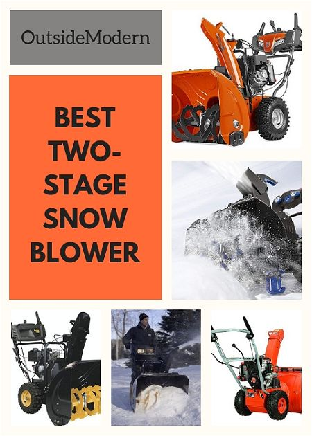 Best Two-Stage Snow Blower: Make Clean Up a Snap | OutsideModern