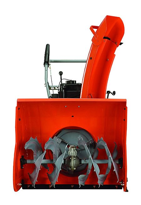 Blades of the YARDMAX YB6270 Two-Stage Snow Blower