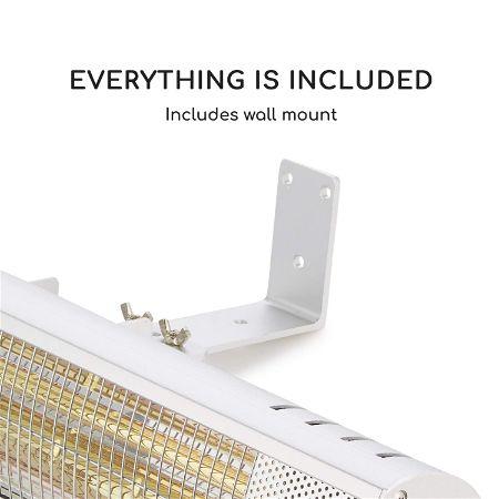Blumfeldt Gold Bar 1500 Infrared Heater Garage Heater