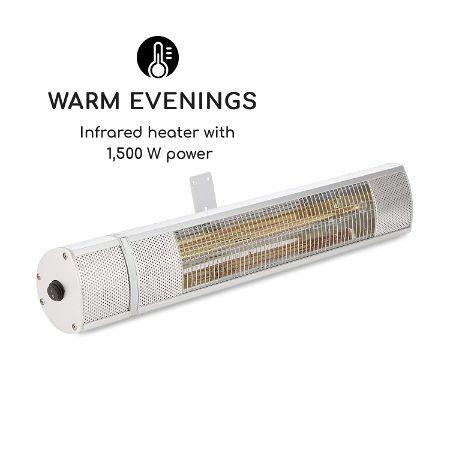 Blumfeldt Gold Bar 1500 Infrared Heater