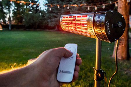 Muskoka Lifestyle Products 1500 Watt Electric Heater w Remote