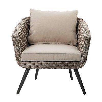 PHI VILLA Indoor Outdoor Patio Arm Chair