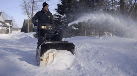 Poulan Pro PR241-24-Inch 208cc Two Stage Electric Start Snowthrower