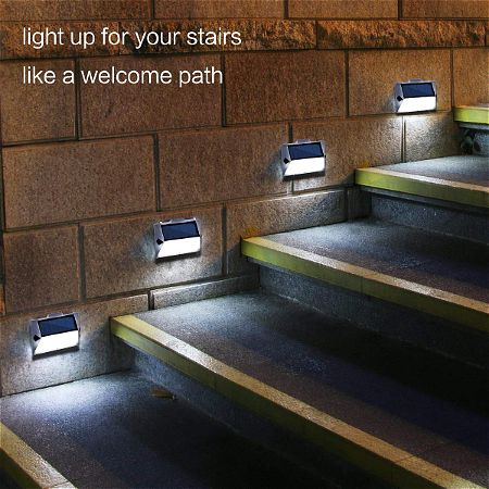Roopure Solar Stair Step Lights