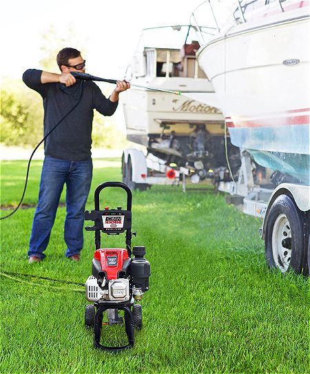 Clean Machine by Simpson 60972 2400 PSI at 2.0 GPM Pressure Washer