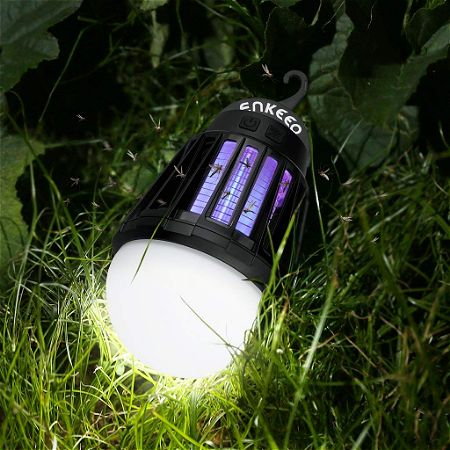 ENKEEO 2-in-1 Lantern Bug Zapper