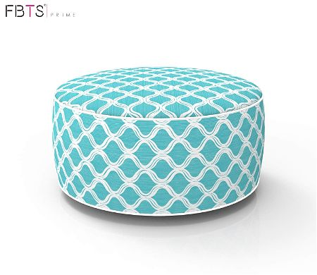 FBTS Prime Outdoor Inflatable Pouf Ottoman