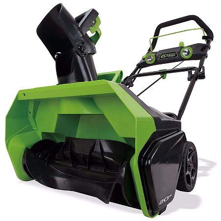 Greenworks 20-Inch 40V Cordless Brushless Snow Blower
