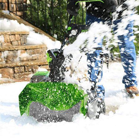 Greenworks 20-Inch 40V Cordless Brushless Snow Thrower