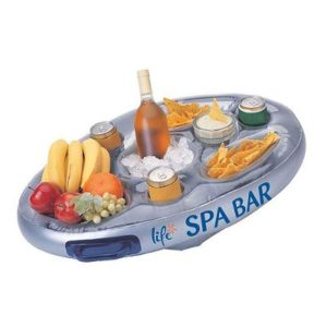 Life Floating Spa Bar Inflatable Hot Tub Side Tray