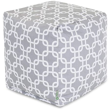 Majestic Home Goods Links Outdoor Pouf
