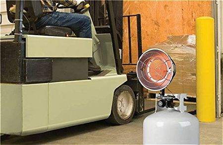 Mr Heater MH15T Single Tank Top Propane Patio Heater F242100
