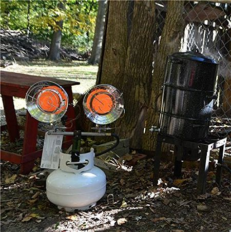 Mr. Heater F242655 MH30TS Double Tank Top Outdoor Heater