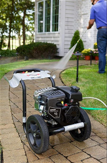 Simpson Cleaning MS60763-S 3100 Psi at 2.4 GPM Gas Pressure Washer