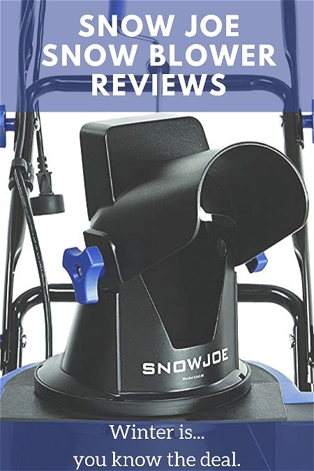 Snow Joe Snow Blower Reviews