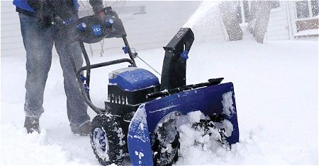 Snow Joe iON24SB-XR Cordless Self-Propelled Two-Stage