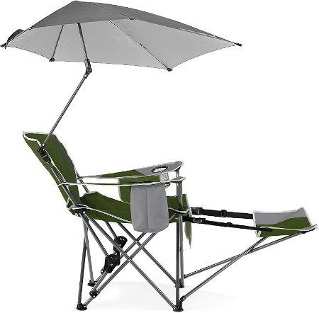 Sport-Brella Recliner Chair in Green