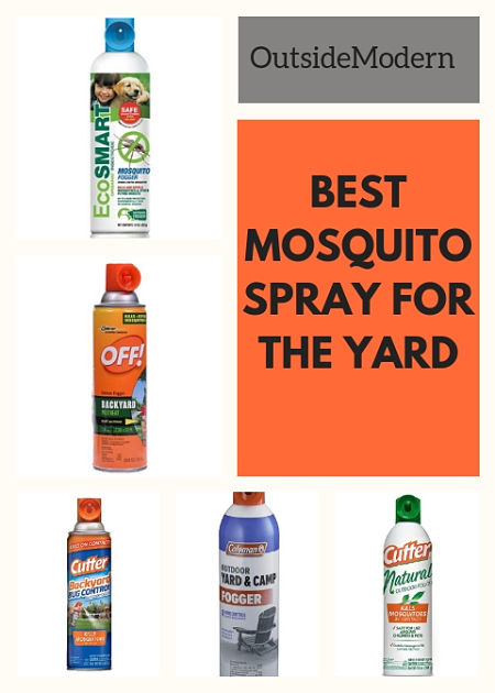 Best Mosquito Spray For The Yard Outsidemodern