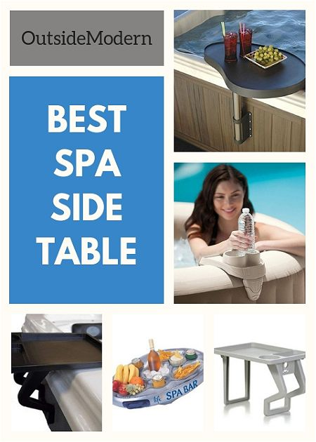 best spa side table