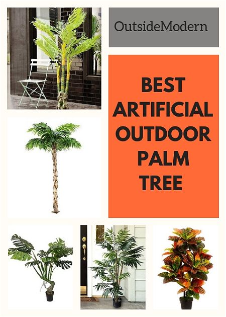 artificial outdoor palm tree