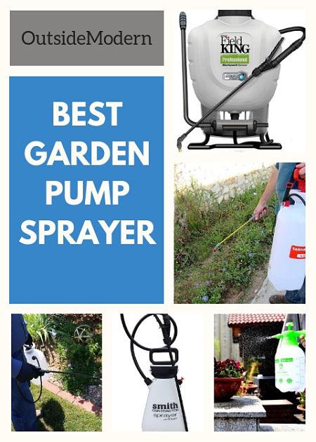 best garden sprayer pump