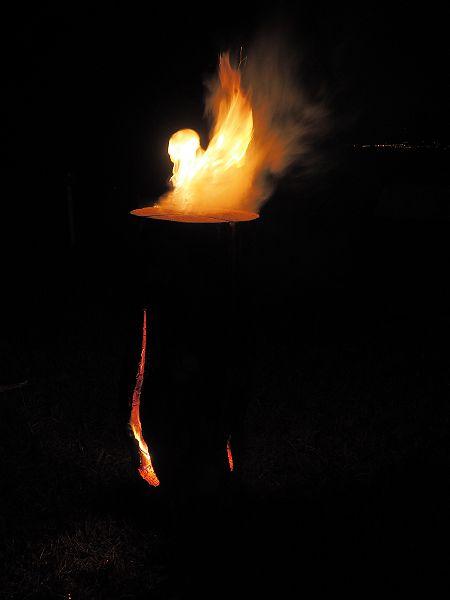 swedish fire log burning