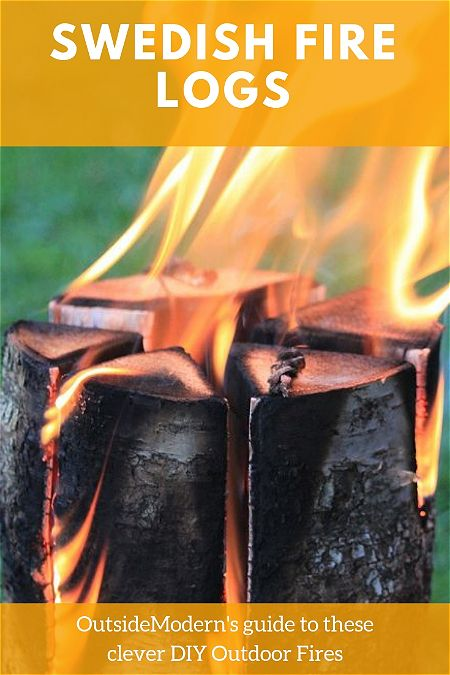 swedish fire logs