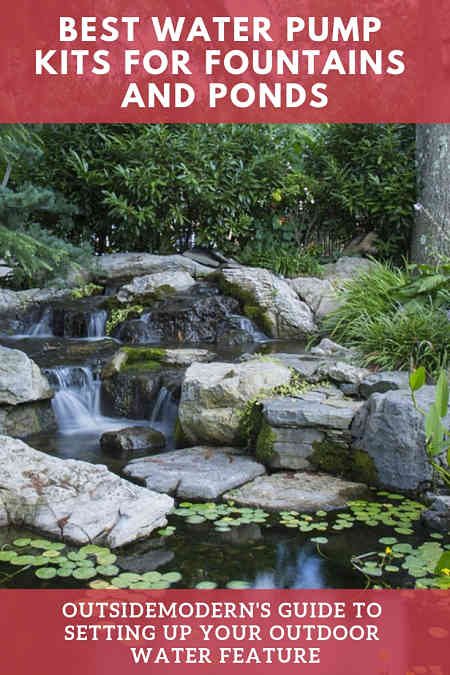 Best Waterfall Pump Garden Water