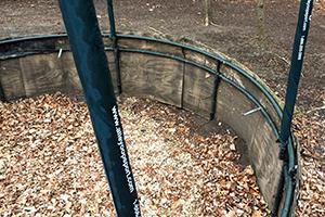 trampoline hole